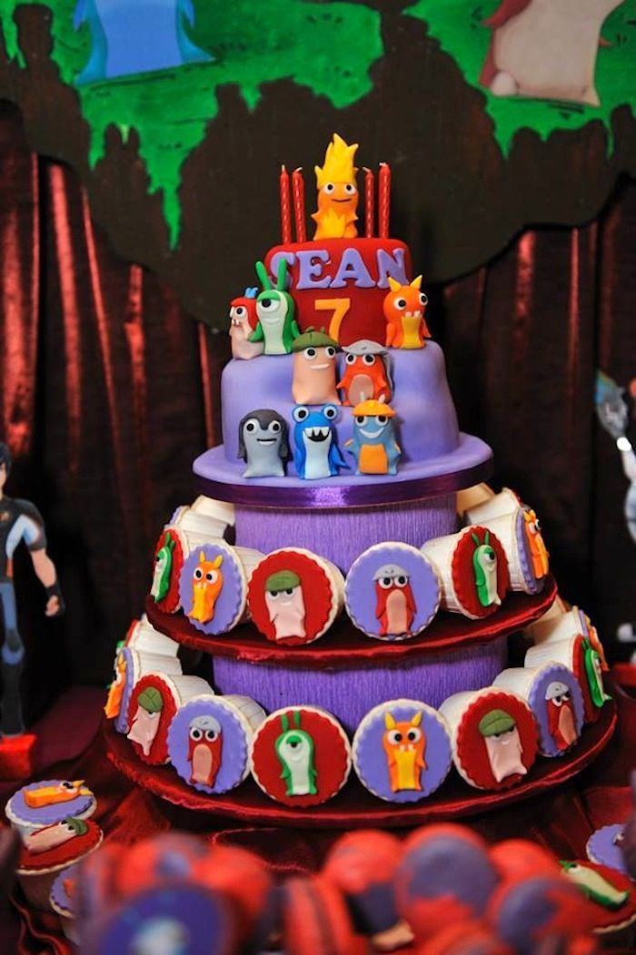 Slugterra Themed Birthday Party {Ideas, Supplies, Decor