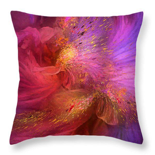Throw Pillow Duvet Covers : 65 best Floral Art Duvet Covers And Pillows images on Pinterest King queen, Duvet covers queen ...