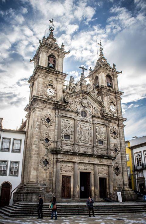 A Igreja de Santa Cruz em Braga
