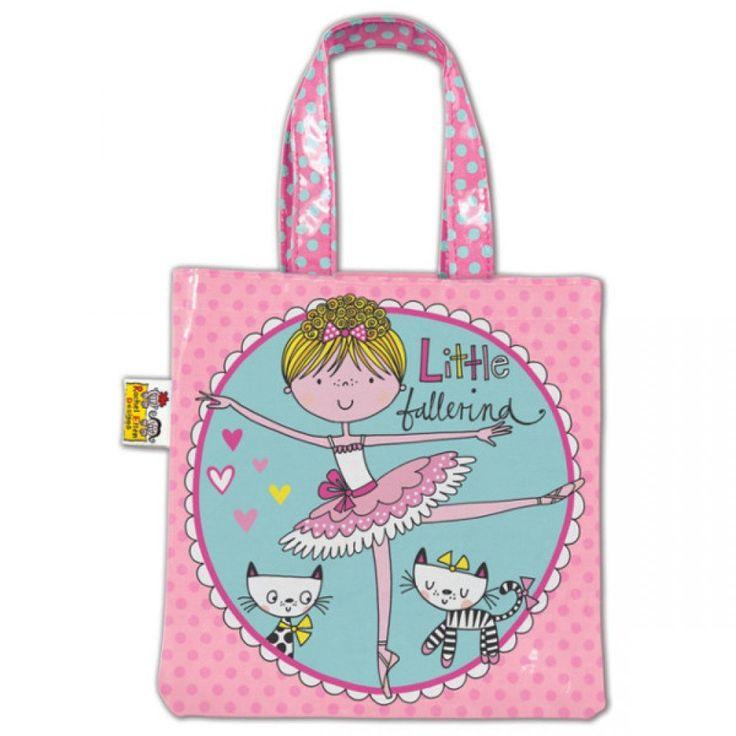 Little Ballerina Pink Mini Tote Bag dazzle-dancewear.co.uk