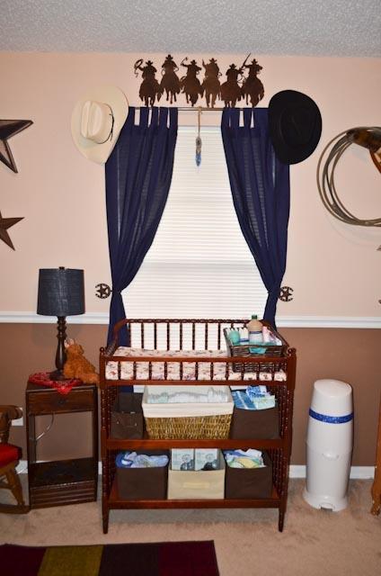 Western Baby Room, cowboy baby