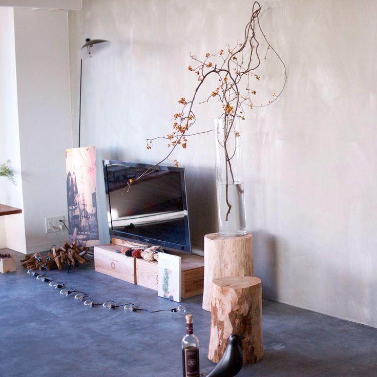 IKEA/ガラスの花器/NOGREEN NOLIFE/テレビ/ウメモドキ…などのインテリア実例 - 2015-10-08 07:50:22…