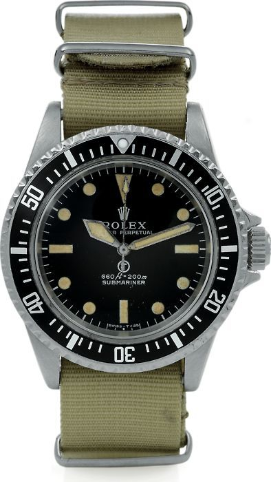 Rolex Submariner MilSub (Reference 5517) - invicta mens watches, fine mens watches, branded watches for mens