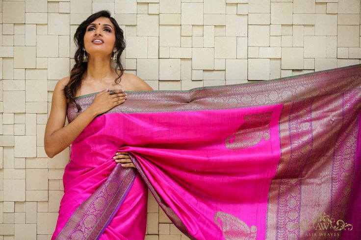 A Benares Silk  with Antique Zari  https://www.facebook.com/pages/Asia-Weaves/208596629275885