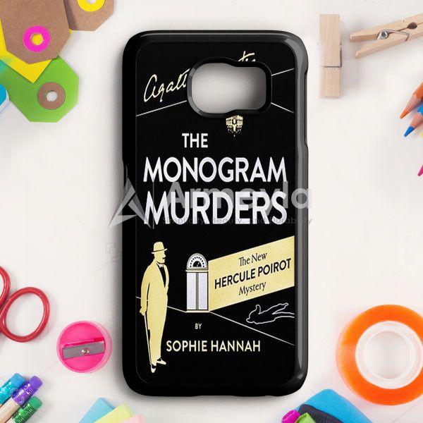 The Monogram Murders Samsung Galaxy S6 Case | armeyla.com
