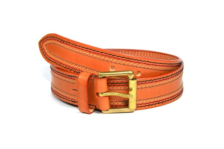 "Belt, English Bridle Leather Tan Colour 1 1/2"" 38mm wide"