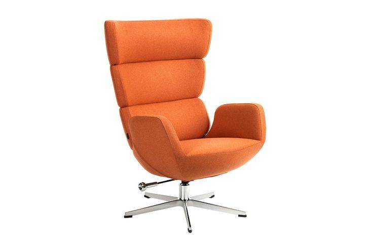 Stoff Facet Orange 1326-18,understell aluminium, med sving