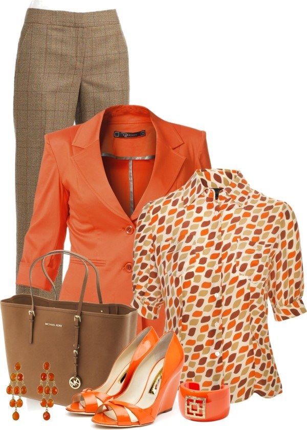 I don't normally like orange but this is really cute!