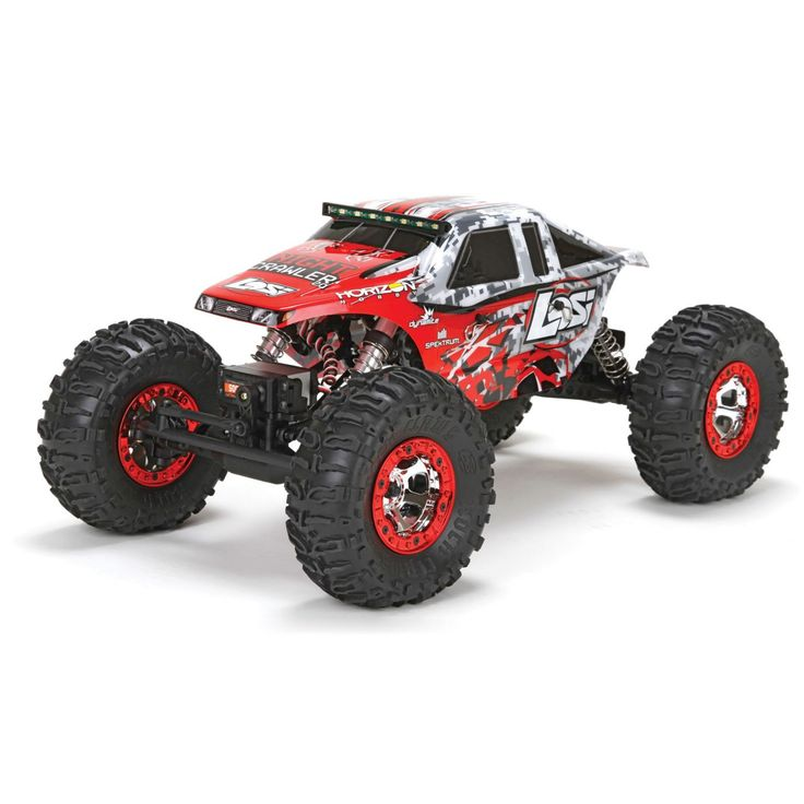 LOS03004 - Losi Night Crawler 2.0 4WD Rock Crawler RTR 1/10
