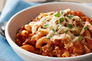 30-Minute Chili Mac recipe #chili