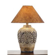 "Eangee Home Design Fortune 15"" H Table Lamp with Square Shade 