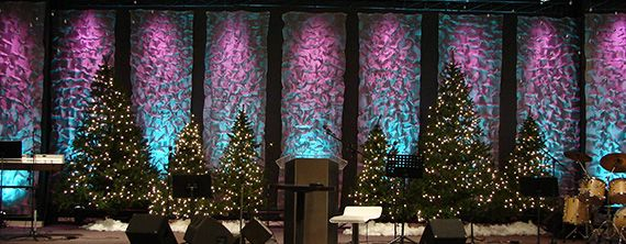 Kris Krinkle | Church Stage Design Ideas