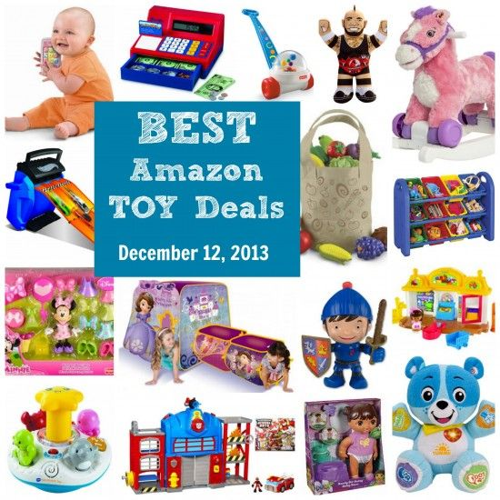 Best Toy Deals on Amazon - updated December 12 The Amazon HOT toy deals of the season are HERE. The EPIC prices we've been waiting for are here and it should continue to only heat up. TheAmazon toy dealsare AMAZING every holiday season! Updated as...