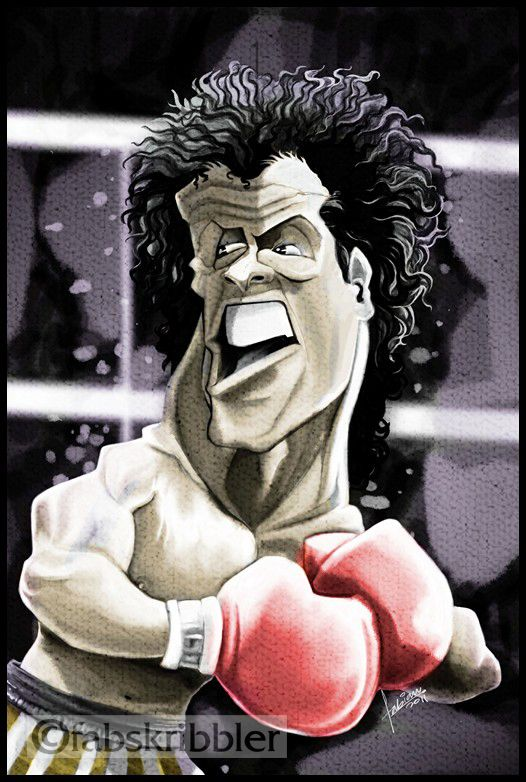 terminator caricatures | Rocky Balboa - Sly Stallone