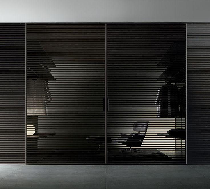 Rimadesio 'Stripe' sliding door system
