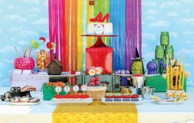 Decoração de Festa Infantil Tema Mágico de Oz