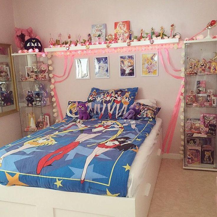 Cool Anime Room Decor Ideas Novocom Top