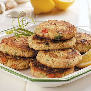 Easy Crab Cakes Recipe from Taste of Home -- shared by Charlene Spelock of Apollo, Pennsylvania :: http://pinterest.com/taste_of_home/