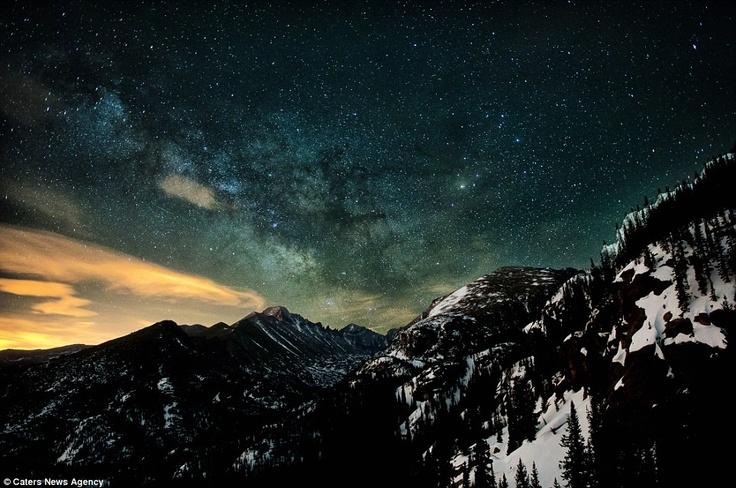 Ночное небо Колорадо от Майка Беренсона