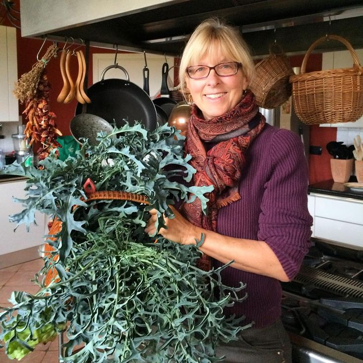 """#Greens (cavolo minestra napoletana)  from our Winter Garden for #Thanksgiving @flavorofitaly"""