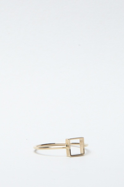 Mociun Square Ring $295.00: Dazzle, Bottom Jeans, Square Rings, Ring 295 00, 333 Mociun, Gold, Drawer, Ideas Maderas