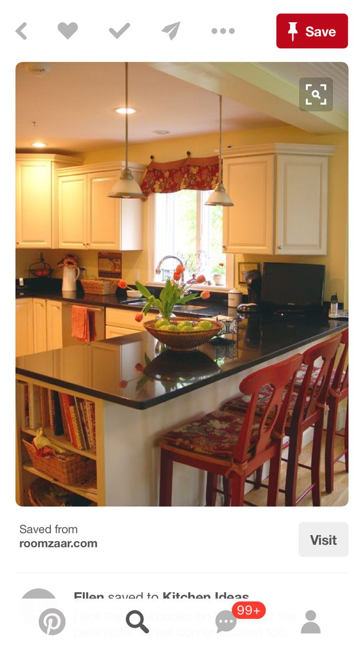Peninsula Kitchen 17 Best Ideas About Kitchen Peninsula On Pinterest Kitchen