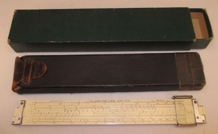 Vintage Keuffel & Esser (K&E) Log-Log Duplex Decitrig ...