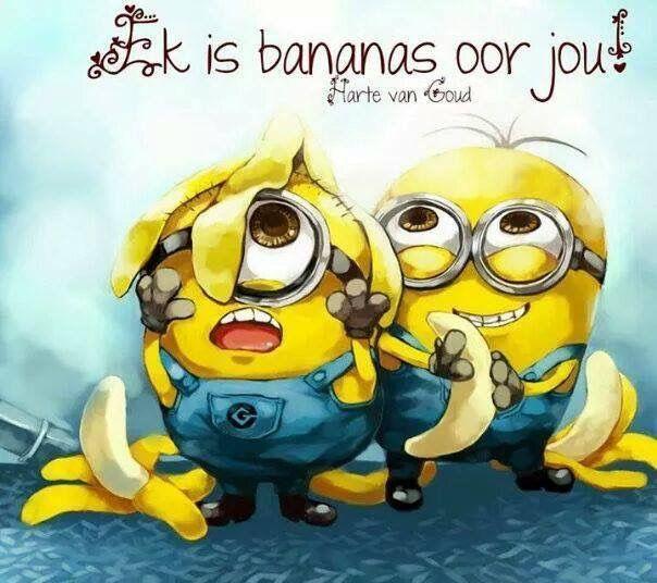 Ek is bananas vir jou