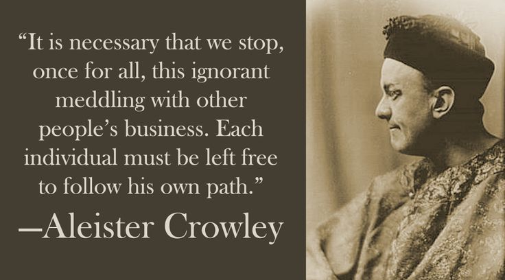 Quote: Aleister Crowley