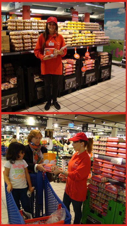 Huevos Solidarios con el Banco de Alimentos http://www.dondedijehuevodigodagu.com/post/64946513045/huevos-solidarios-con-el-banco-de-alimentos