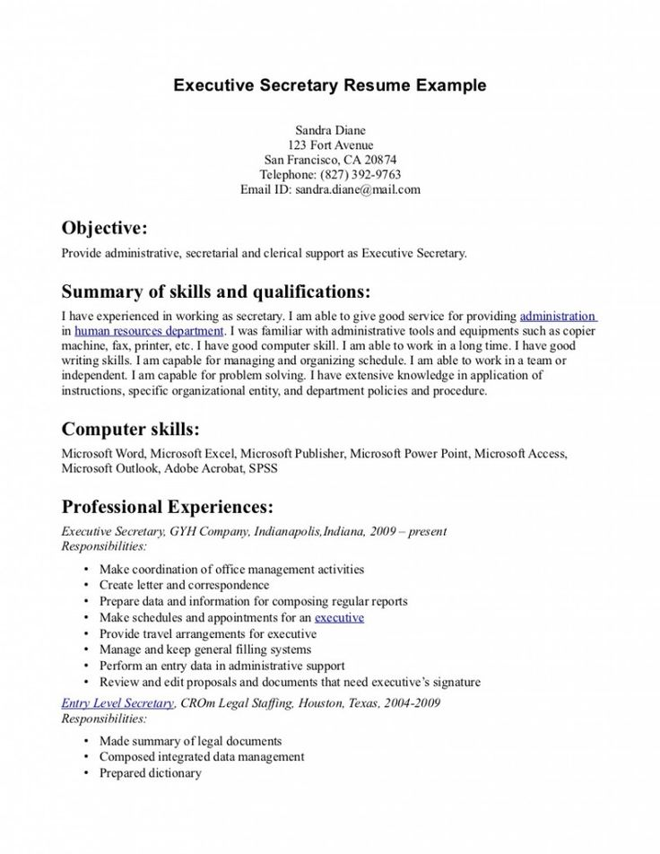 Functional Resume Example Free  Sample Functional Resumes