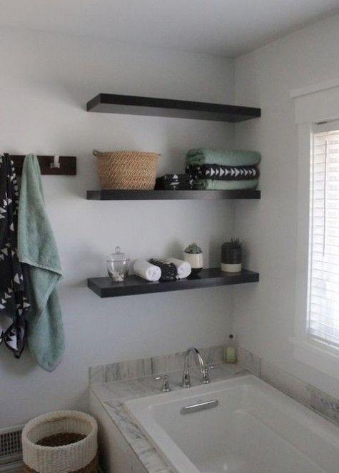 17 best ideas about lack shelf on pinterest ikea office for Cool floating shelves