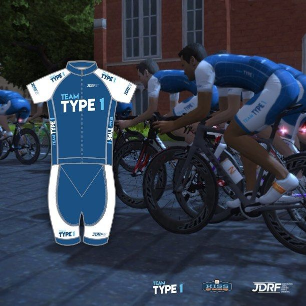 Team Type 1 Cycling Kit As Seen In Zwift Cycling Design