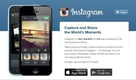 Instagram is an online picture sharing video sharing and a social Application. From this, Pictures can also be shared to different Social Networking sites like Facebook, Twitter, Google Plus and Tumble.