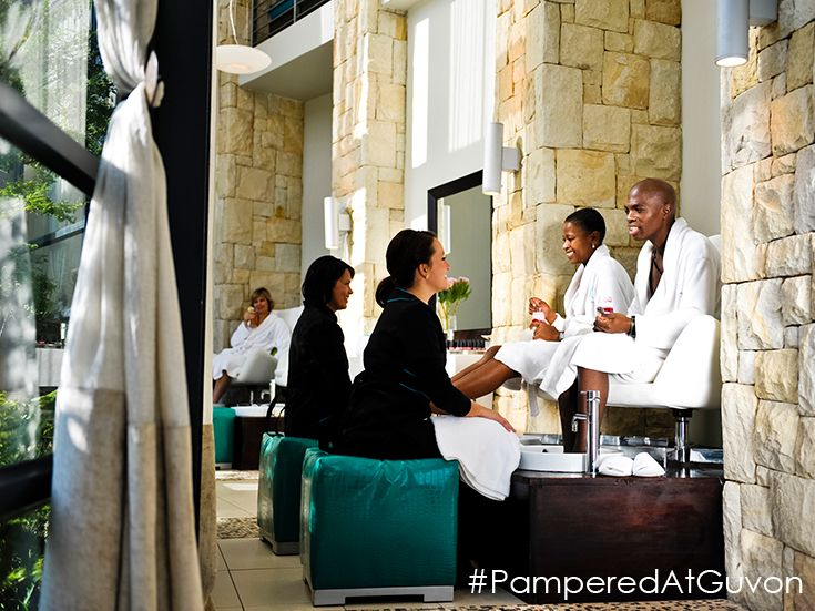 The Fairway Spa invites you to immerse yourself in our oasis providing an ideal retreat from the demands of the city. #PamperedAtGuvon #atGuvon #pedicure