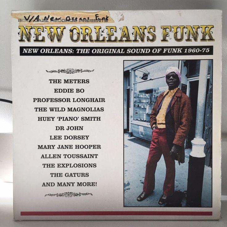 V/A New Orleans Funk 3xLP 2000 Soul Jazz w/booklet 24 track ESSENTIAL COLLECTION #BayouFunkFunkSoul