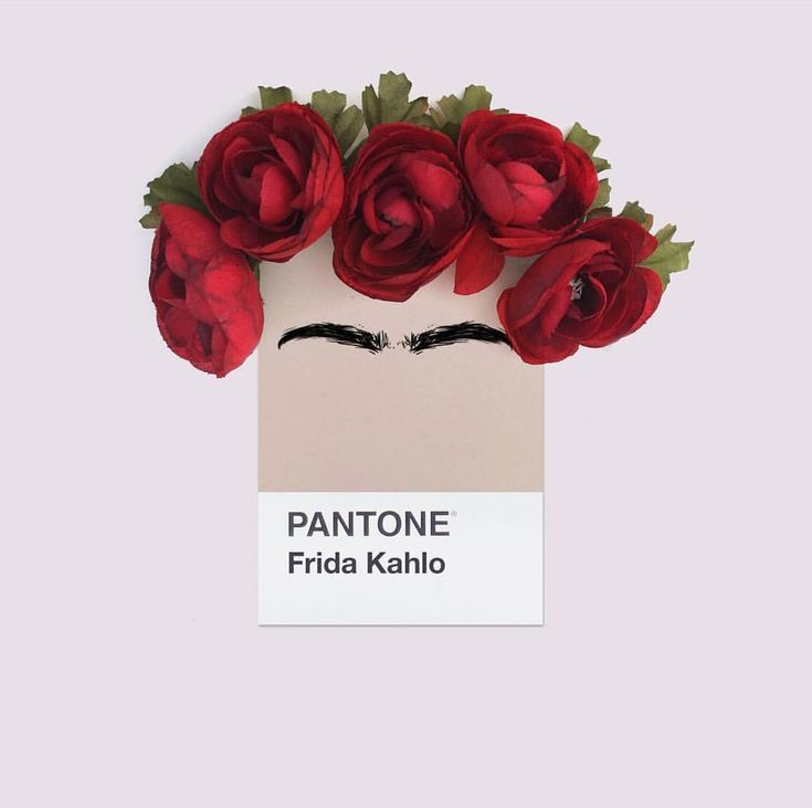 PANTONE Frida Kahlo. #mydailypantone #pantone