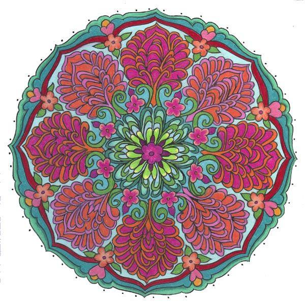 Beltane Flowers Mandala by ChaoticatCreations on deviantART