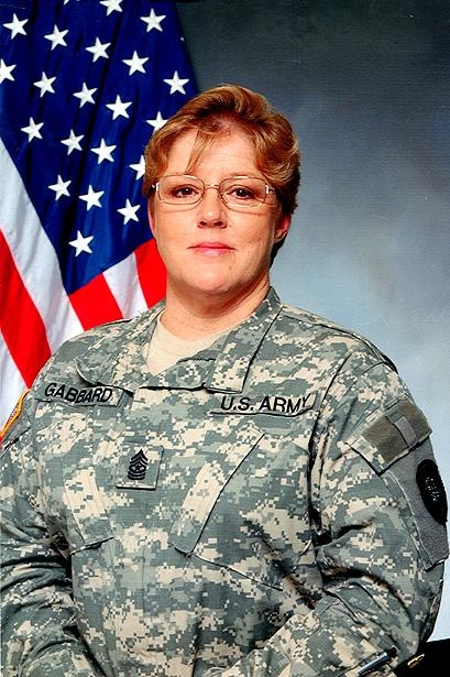 Army Command Sgt. Maj. Marilyn L. Gabbard  Died January 20, 2007 Serving During Operation Iraqi Freedom  46, of Polk City, Iowa; assigned to Joint Forces Headquarters, Iowa Army National Guard, Camp Dodge, Johnston, Iowa; died in Baghdad on Jan. 20 when the UH-60 Black Hawk helicopter she was in crashed.