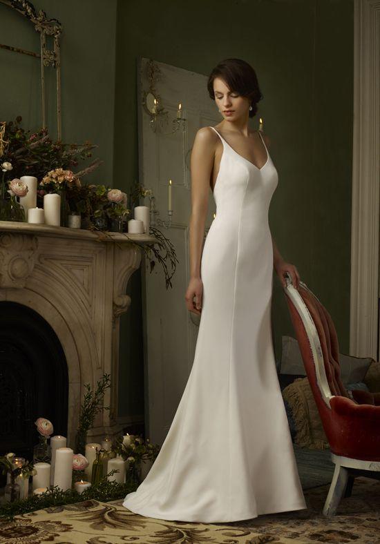 Low V-Neck Mermaid Wedding Dress | Grace by Robert Bullock Bride  http://trib.al/CTUBqEc