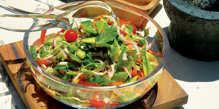 Thai Style Chicken Salad | Wheel&Barrow - The Counter Top