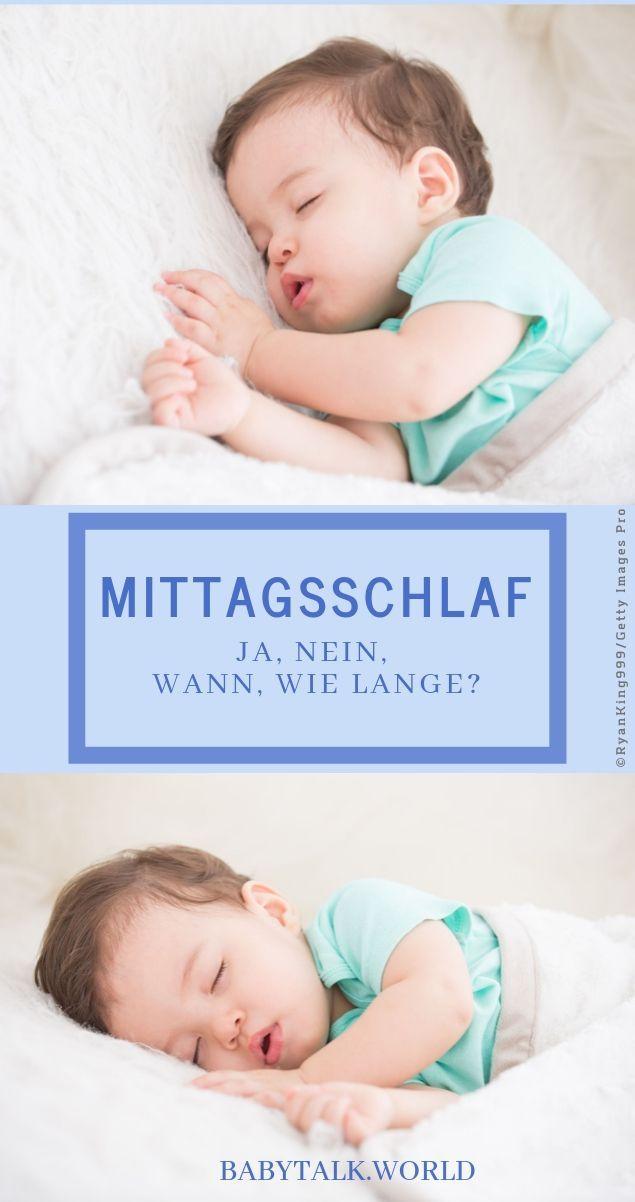 Tipps rund um den Mittagsschlaf von Kindern Babytalk.world ...