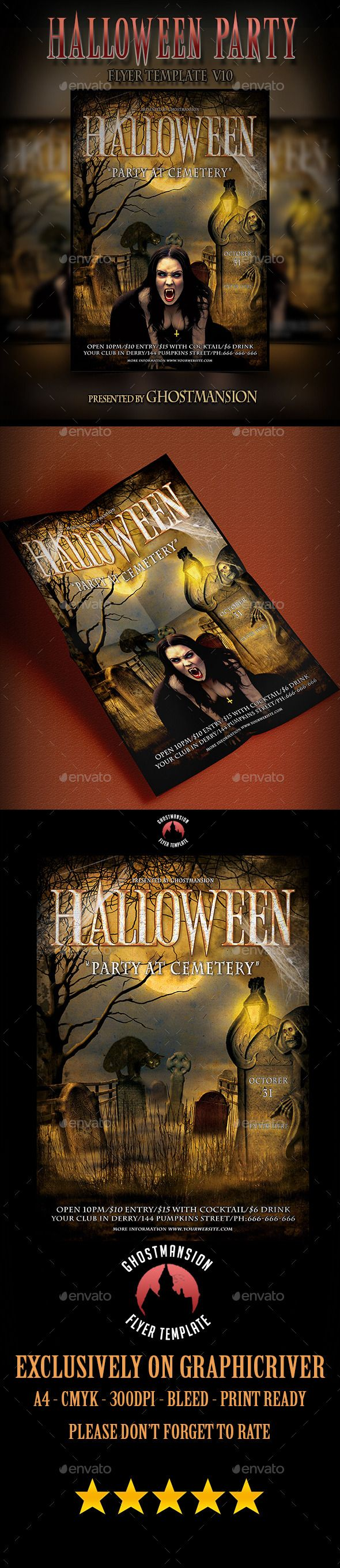 49 best Flyer Template, Book Cover Template, Movie Poster Template ...
