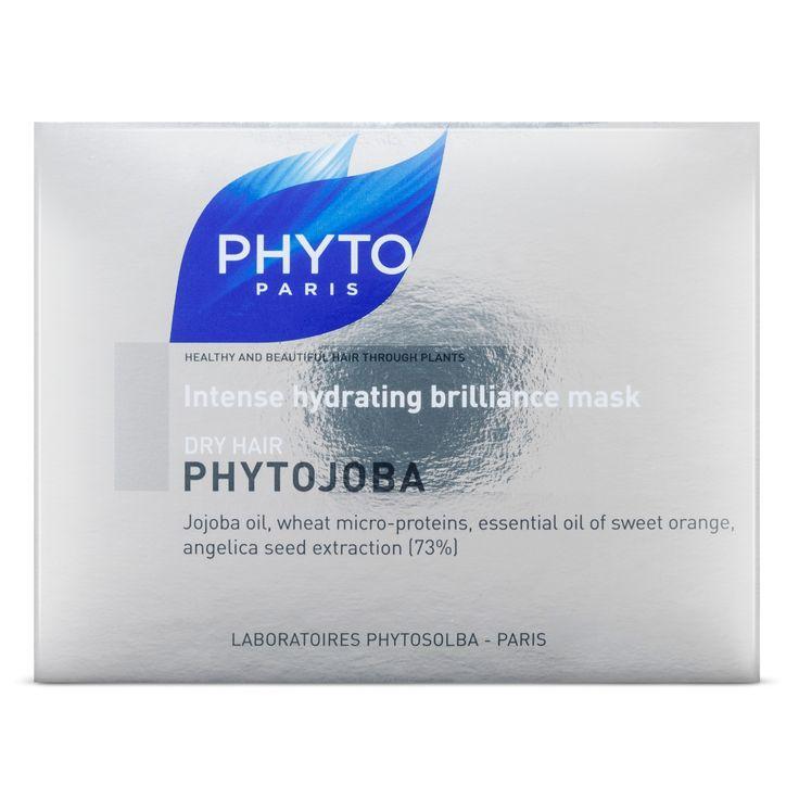 Phyto Paris Dry Hair Phytojoba Intense Hydrating Brilliance Mask - 6.8 oz