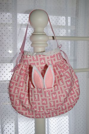 Free Bunny Bag Sewing Pattern