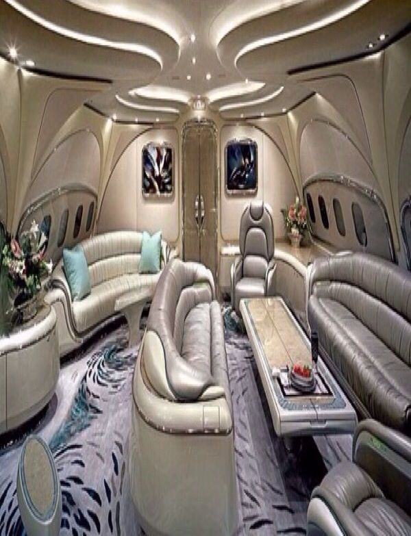 Luxury private jet interior | Lets Fly - my jet or yours ...