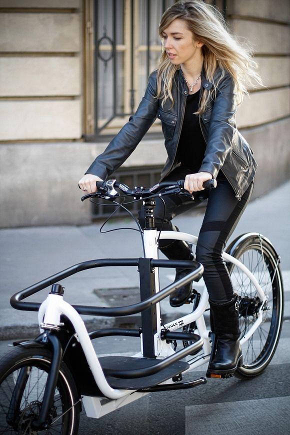 Messenger V2 Cargo Bike by Douze-Cycles