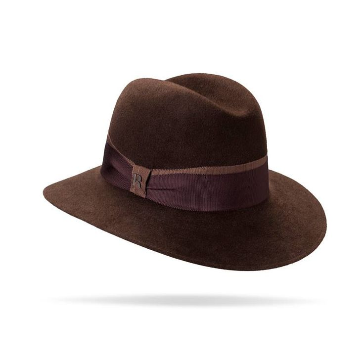 """""""Lady D"""" hat in Brown"""