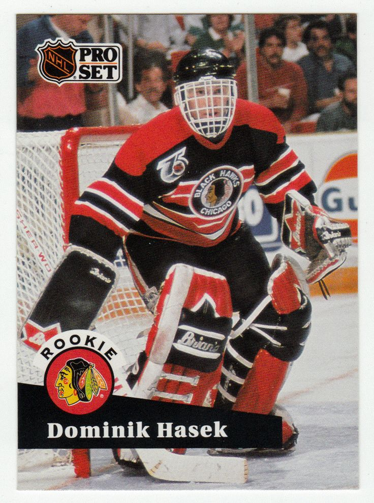 Dominik Hasek RC # 529 - 1991-92 NHL Pro Set Hockey NHL Rookie