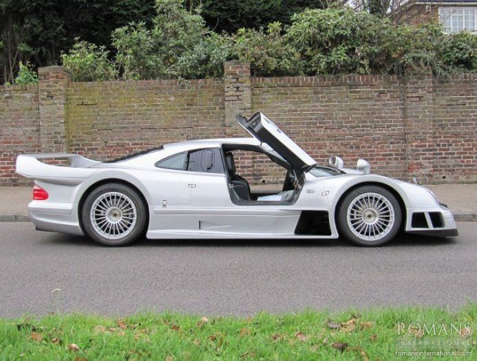 Mercedes CLK GTR #windscreen http://windblox.com #winddeflector